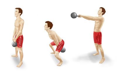 kettlebell swing instructional